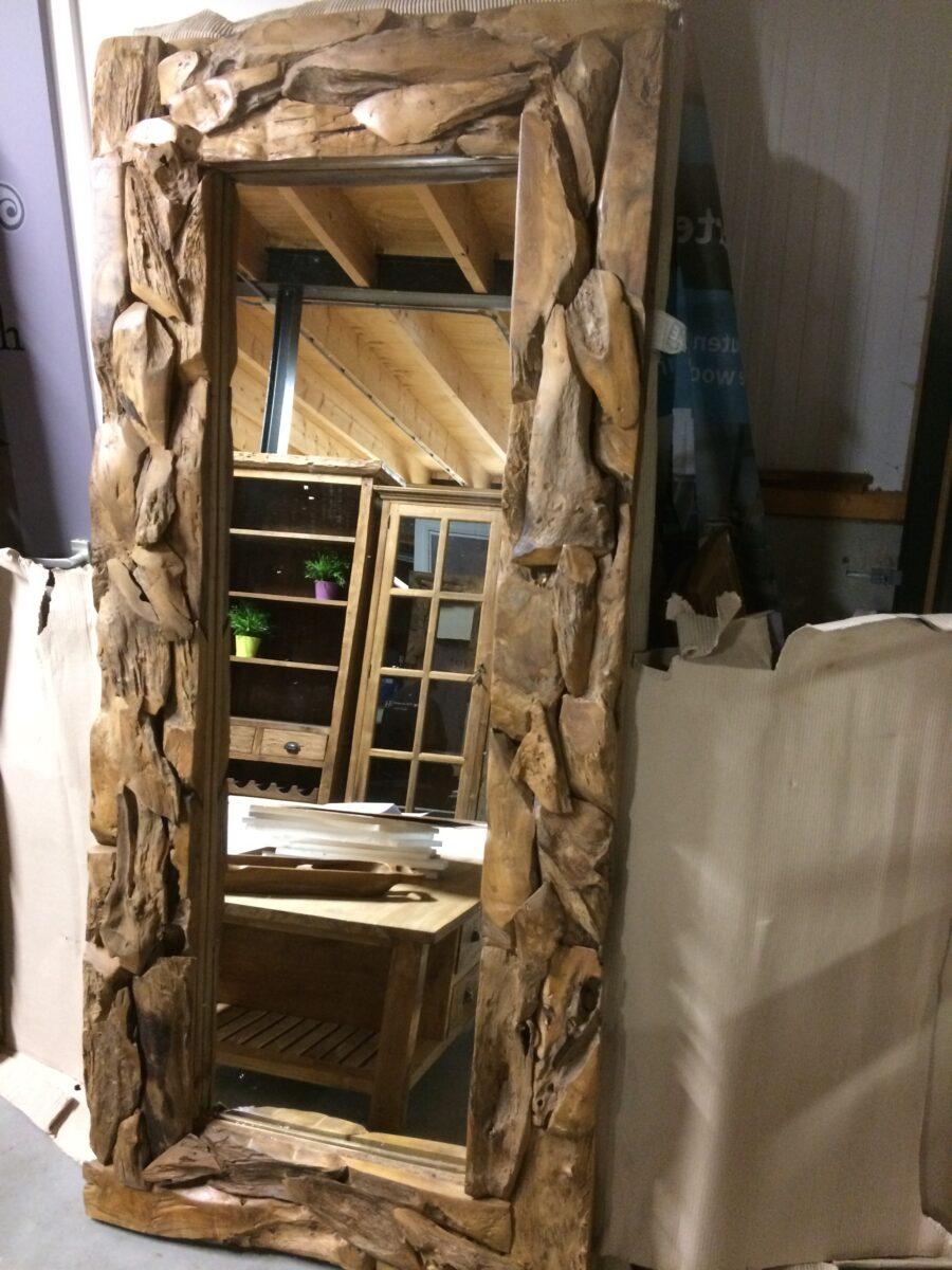 Spiegel drijfhout 200x100