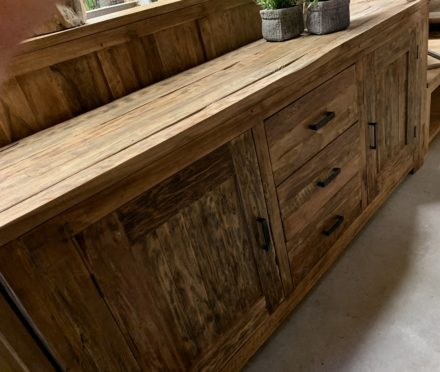 Dressoir smoked teak