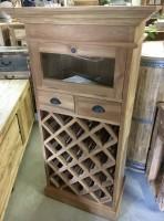 Kastje voor wijnflessen