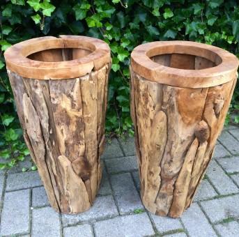 potten drijfhout