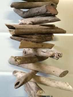 Guirlande drijfhout