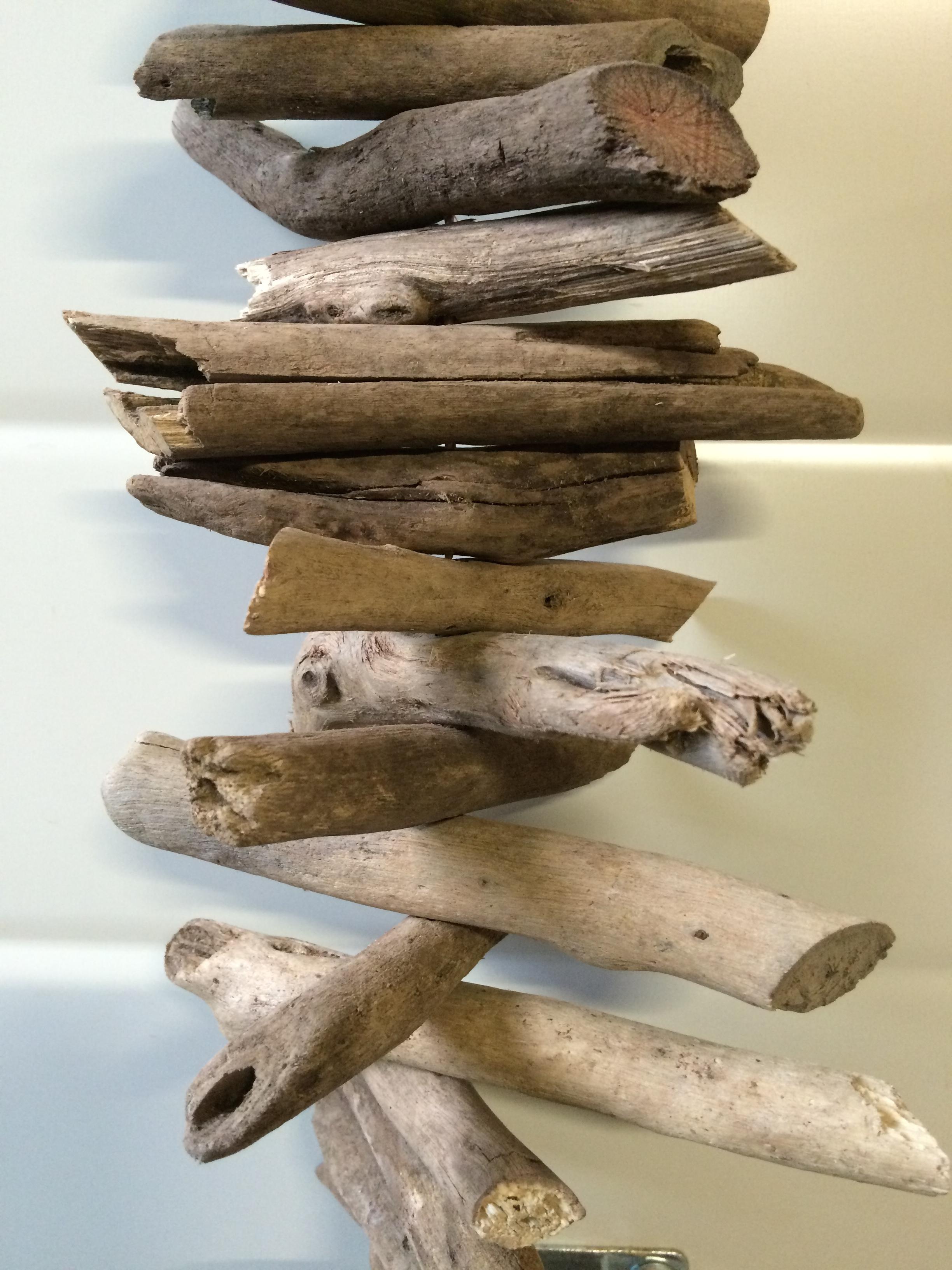 Guirlande drijfhout   Polder TEAK