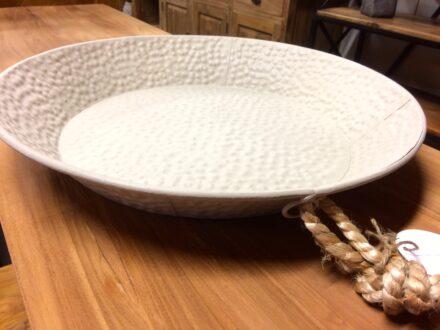 Decoratieve schaal taupe