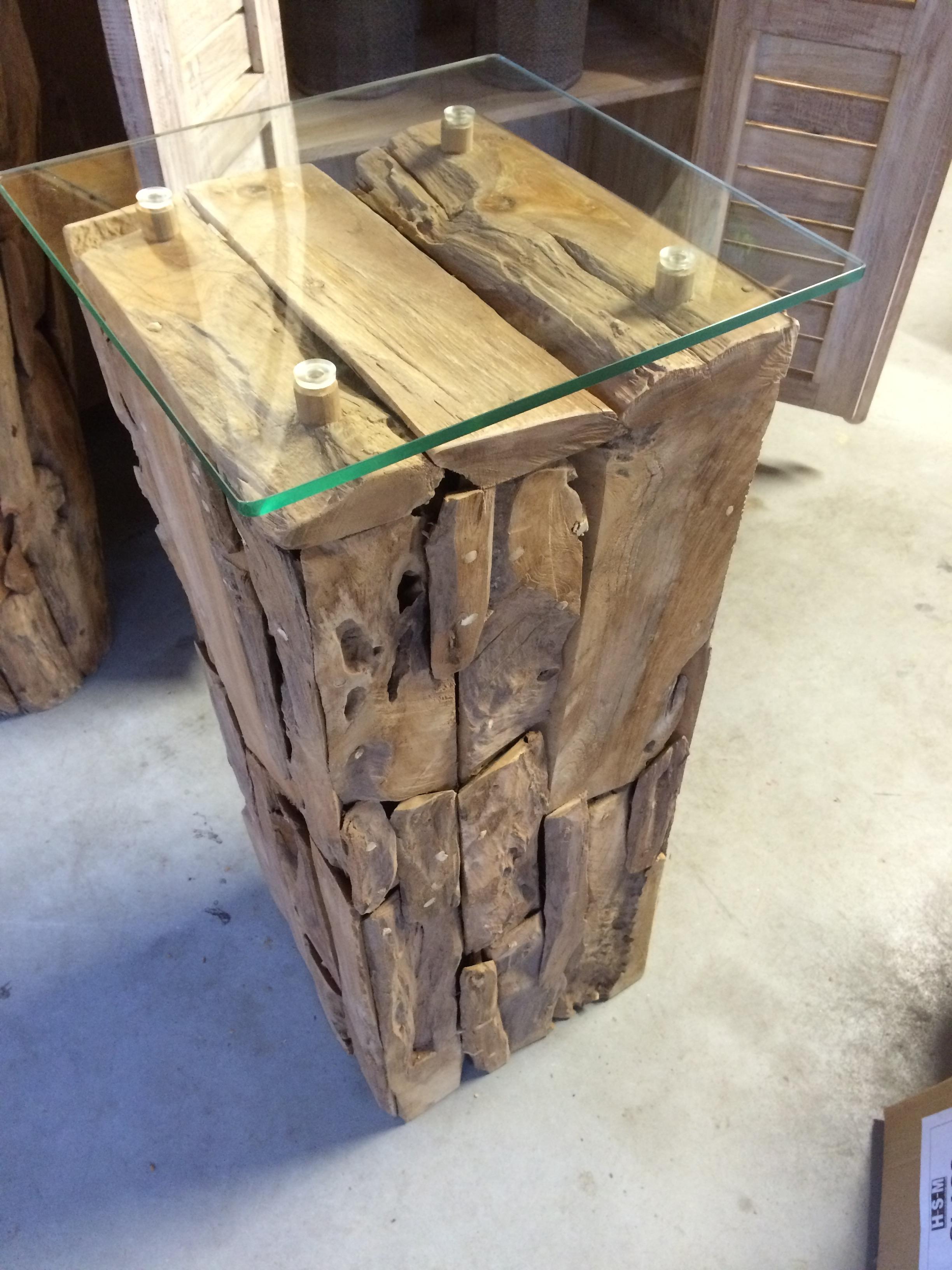 Pilaar drijfhout 80cm