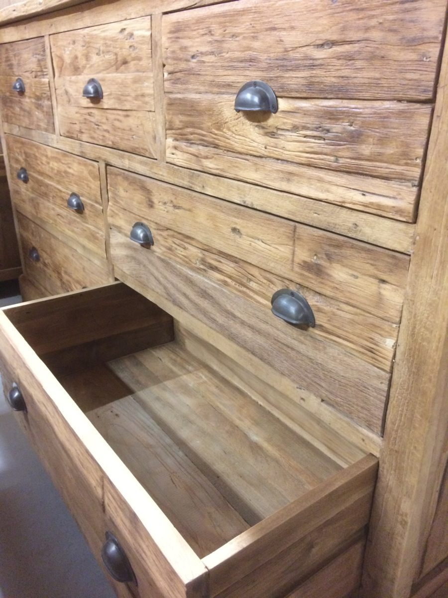 Dressoir rustiek lades