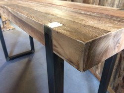 Sidetable rustiek industrieel