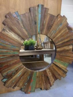 Spiegel mangohout