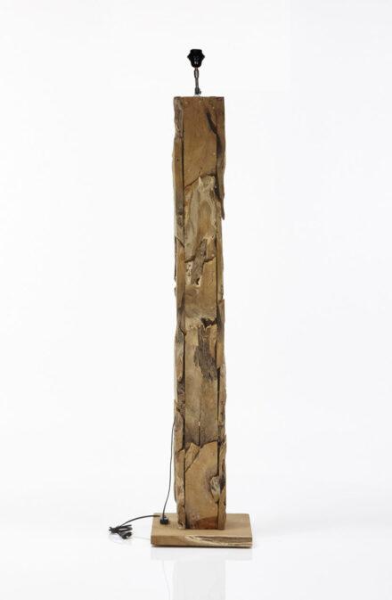 Staande lamp drijfhout