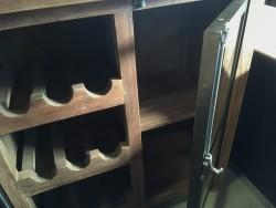 Wijnkast industrieel