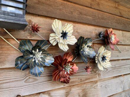 Bloemen metaal 3D
