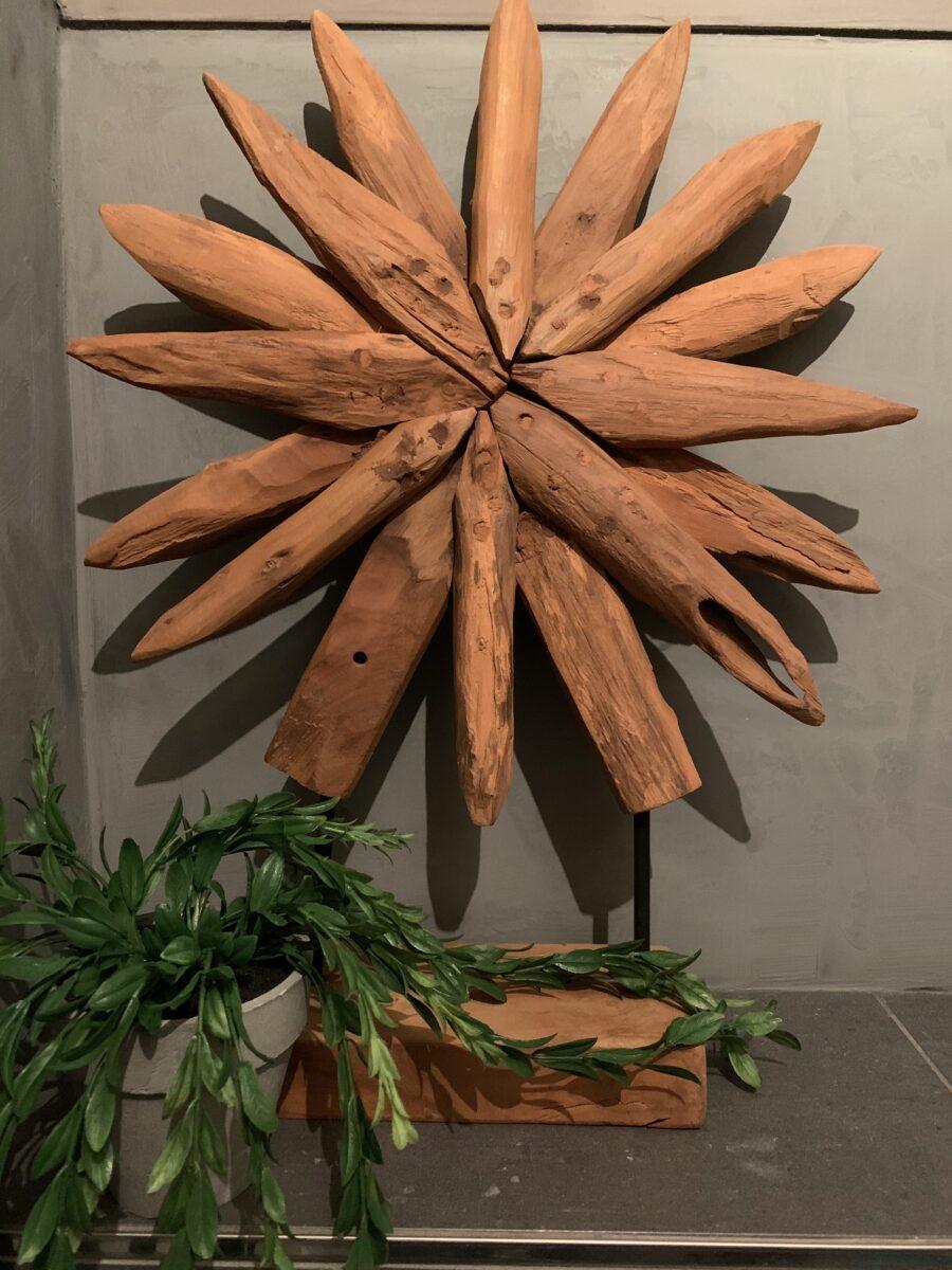 Sunflower wortelhout